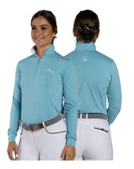 Emily Technical Equestrian Horse Riding Shirt - Long Sleeve