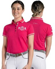 Lindelle Ladies Equestrian Horse Riding Casual Polo Shirt