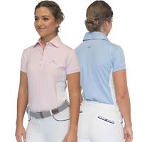 Luciana Technical & Training Horse Riding Shirt -Short Sleeve