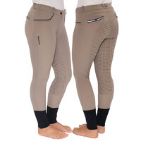 Sportz 'Caprice' Ladies Riding Breeches - Taupe
