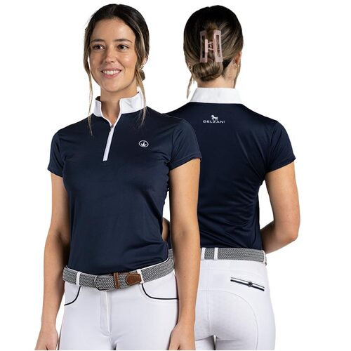 Havana Ladies Competition Show Horse Riding Shirt - Short Sleeve